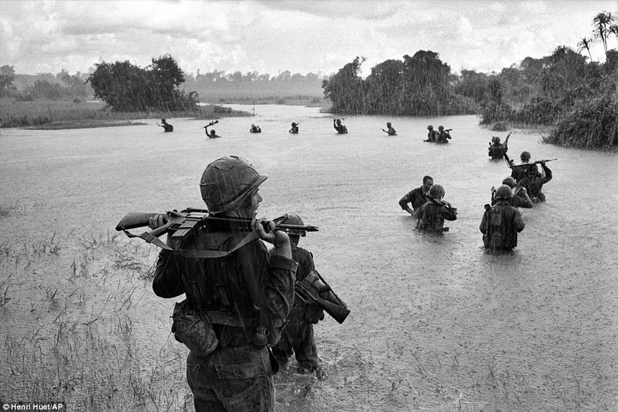 Vietnam War AP Photographers Rainy Day
