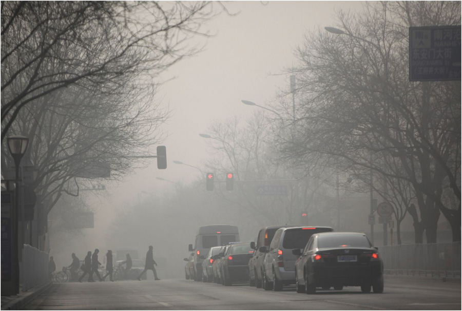 Chinese Pollution Intersection