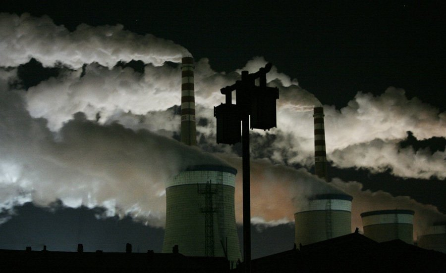 Chinese Pollution Coal Mine Pollution