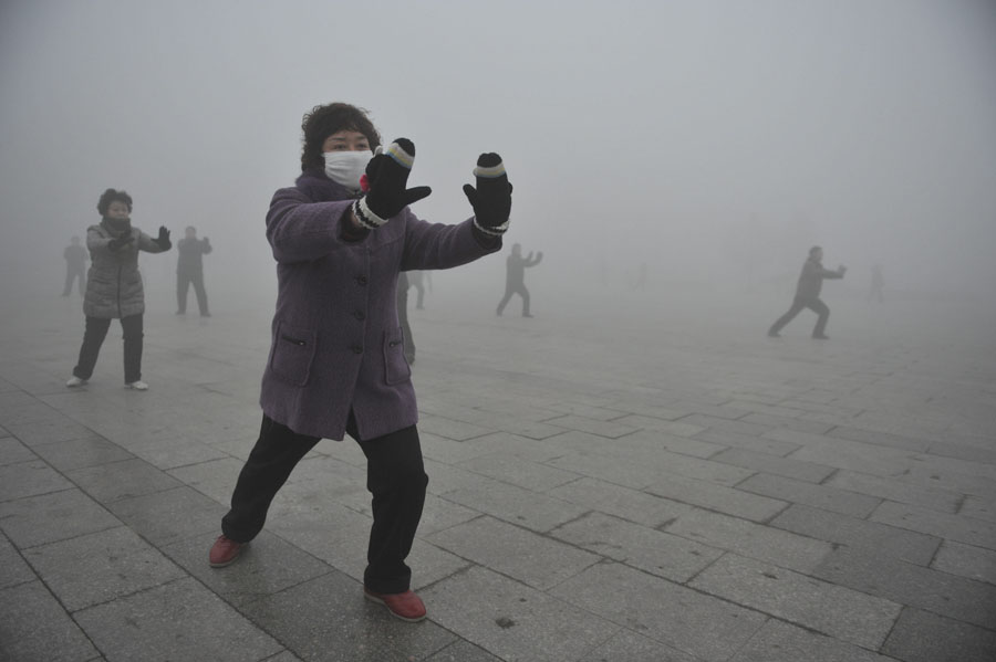 Chinese Pollution Smog