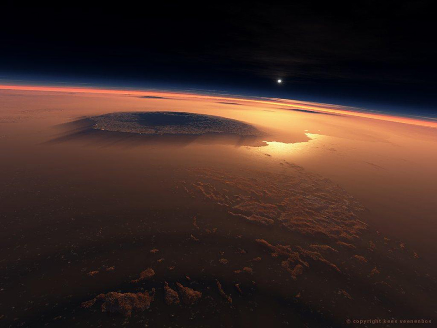 Mars Landscapes Surface