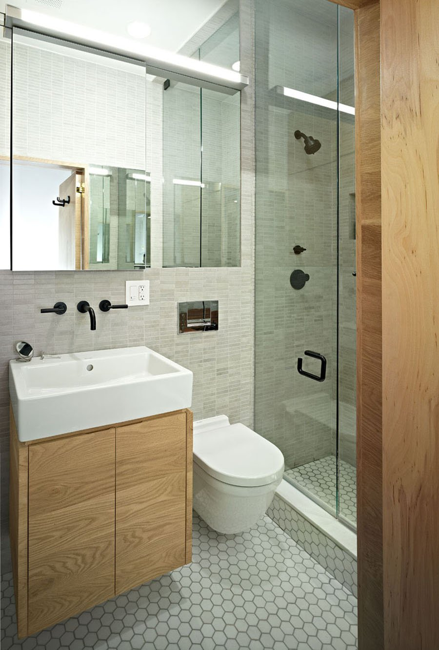 Micro Apartments Bathroom