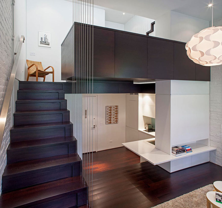 Micro Apartments Living Space