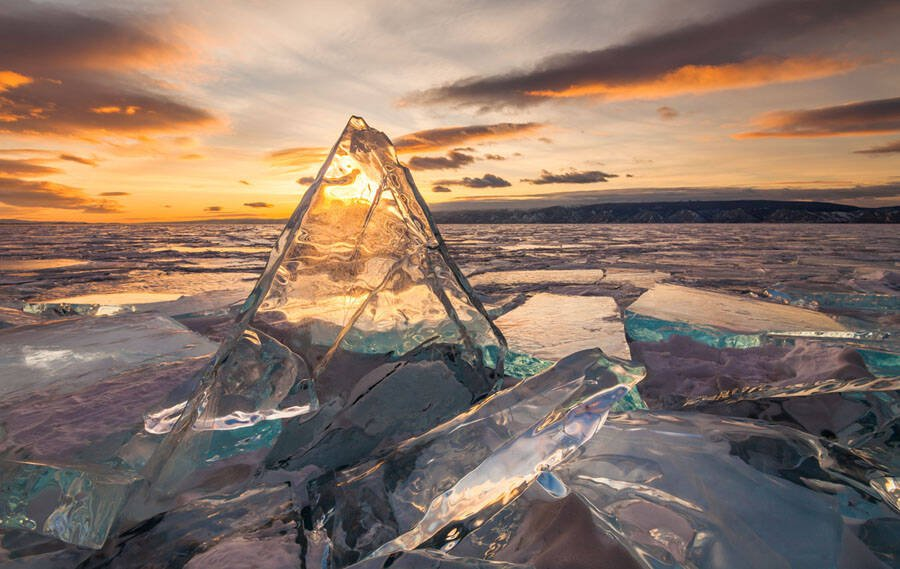 Baikal Ice Splinters