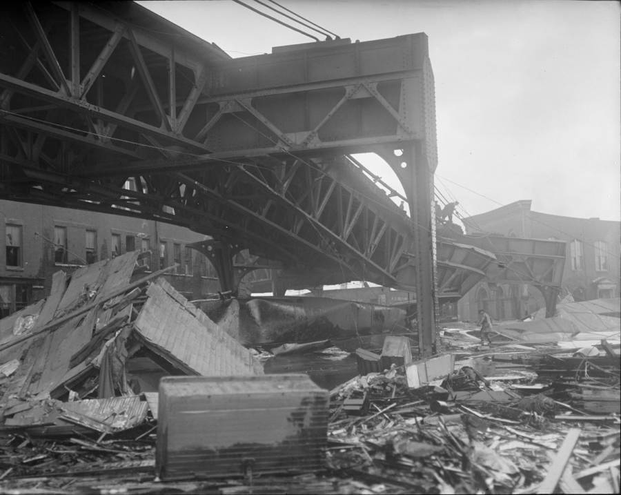 Damage from Boston Molasses Disaster