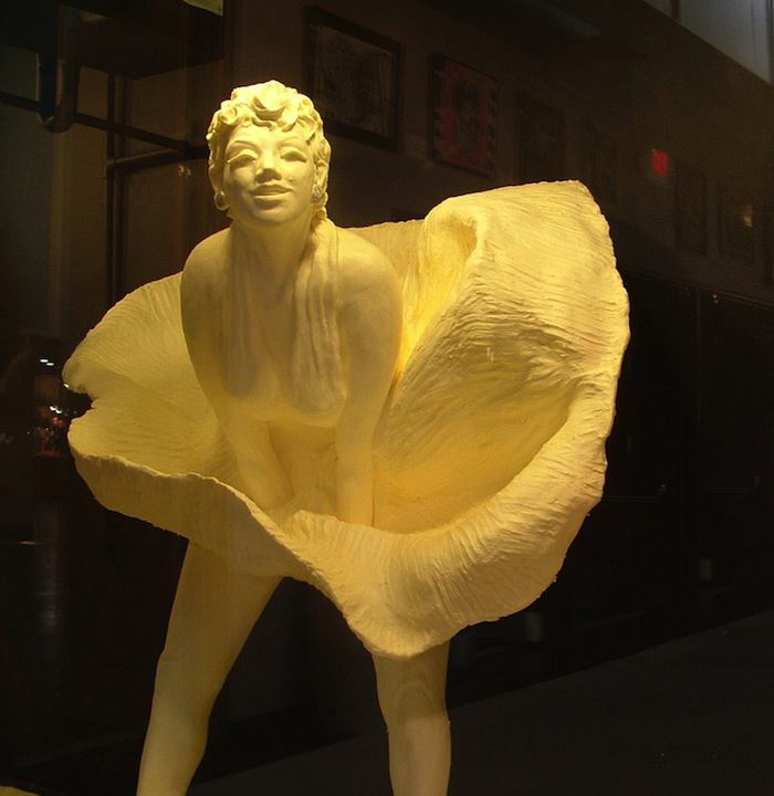 Butter Art Marilyn Monroe
