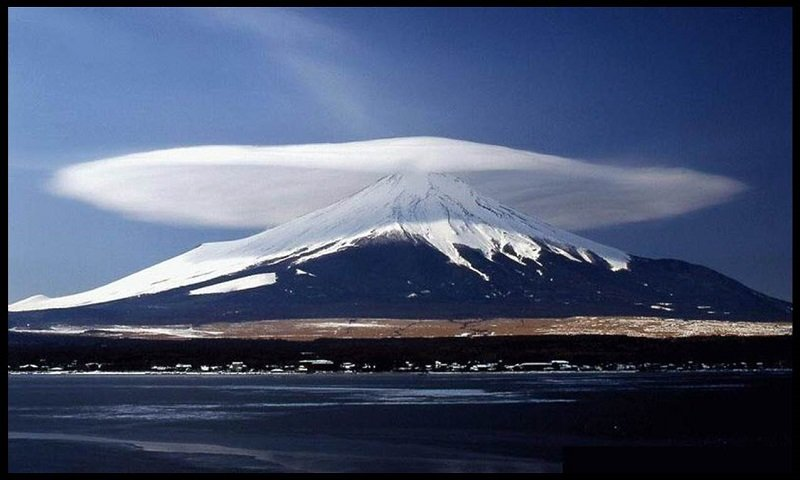 Lenticular Cloud Mount Fiji