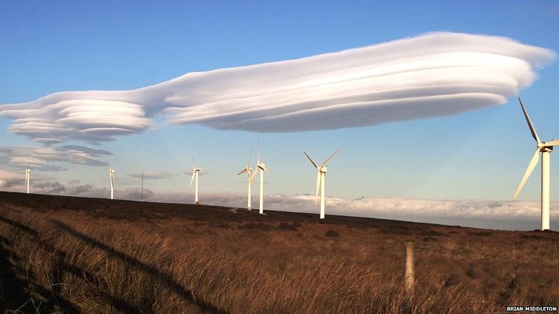 Lenticular Clouds Field