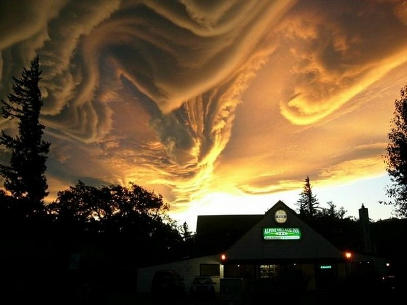 Cloud Formations Undulatus Asperatus