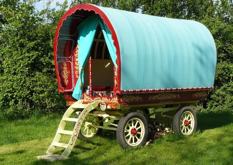 Gypsy Caravans Blue