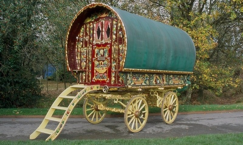 Gypsy Caravans Bowtop