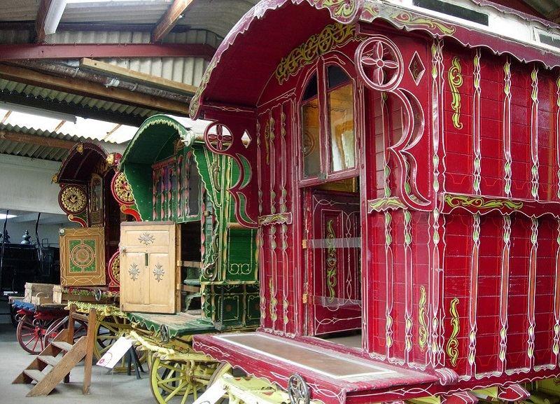 Gypsy Caravans Display