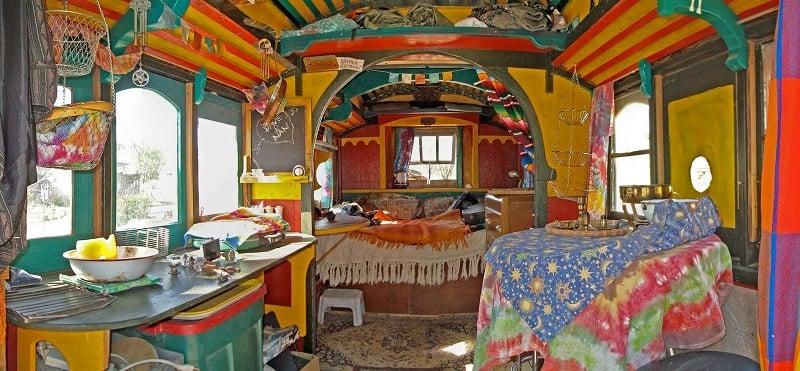 Interior Caravan View