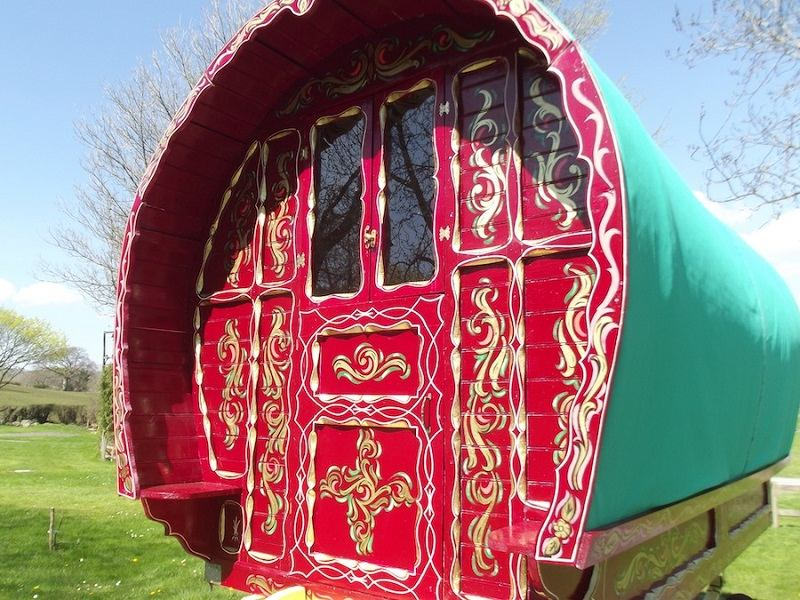 The Most Colorful Gypsy Caravans