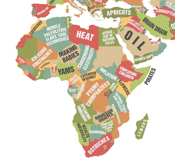 Countries Known For Africa