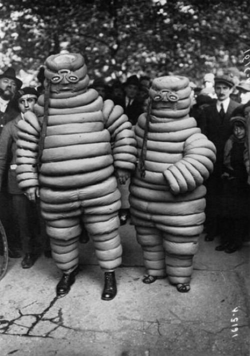 Creepy Halloween Costumes MIchelin Men