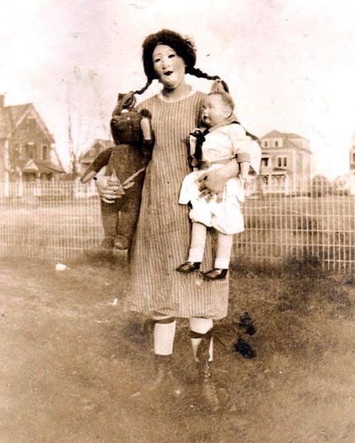 Mother Children Costume