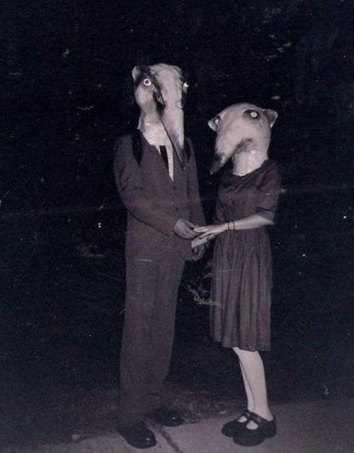 Freaky Halloween Costumes | Creepy Halloween Costumes From The Early 20th Century