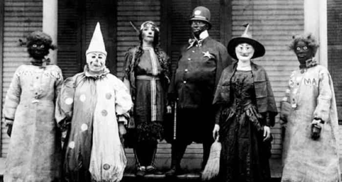 creepy halloween costumes from the early 20th century - Halloween Costumes 1900