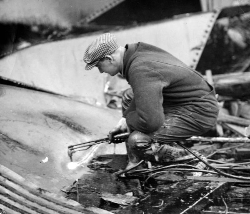 Tank from Boston Molasses Flood