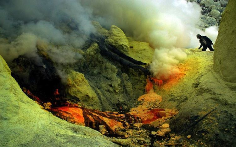 Dangerous Jobs Volcano