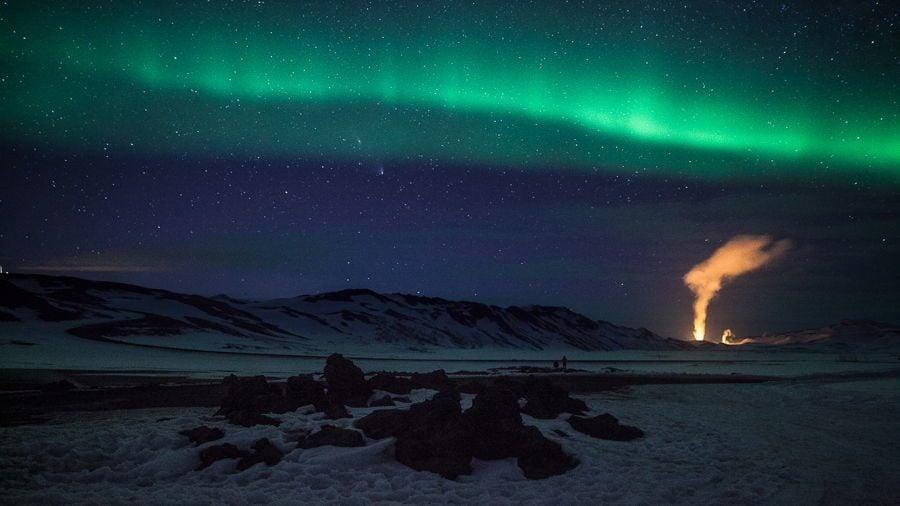 Iceland Aurora Borealis Photo