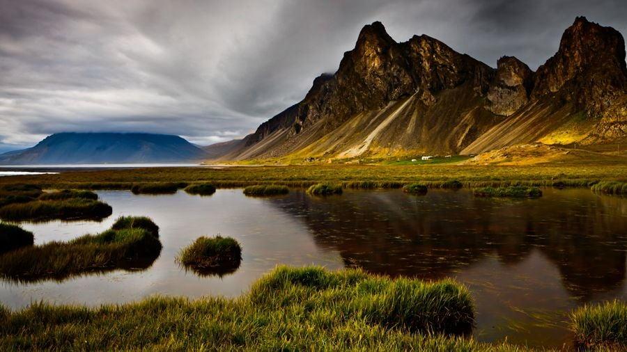 Iceland Mountain Pond