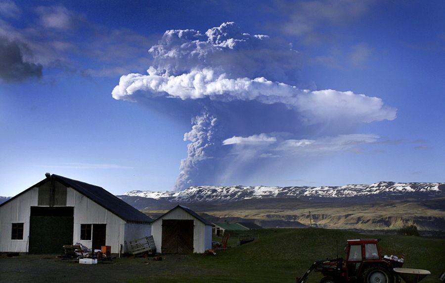 Volcano Erupting In Iceland