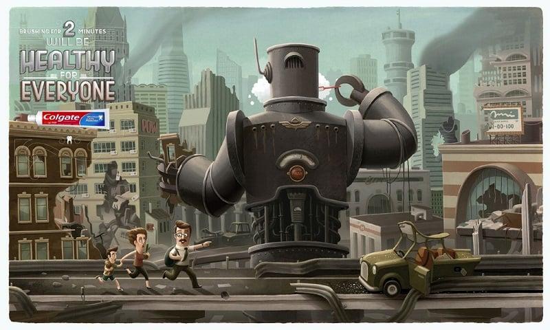 Incredible Illustrators Gordeev Colgate