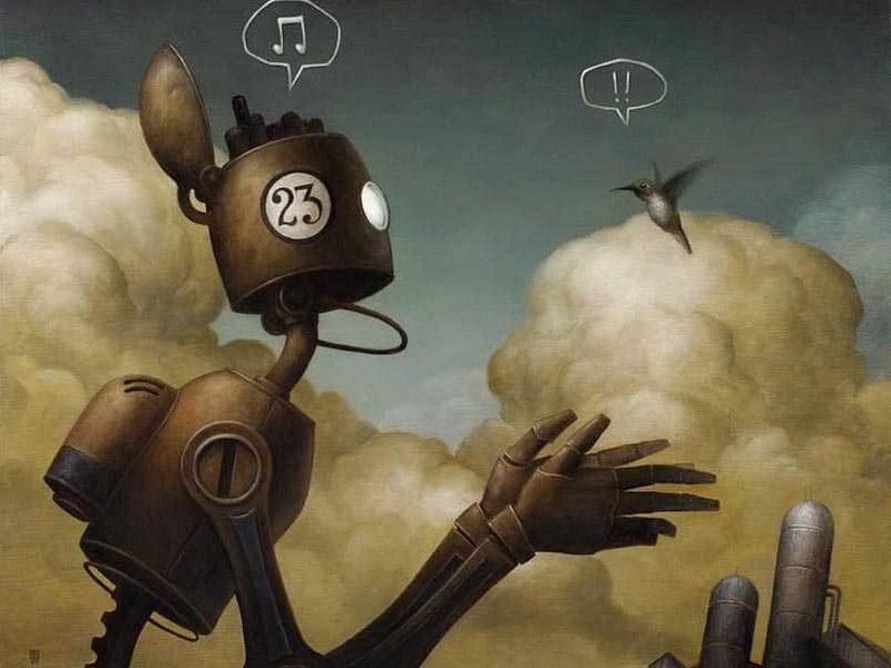 Incredible Illustrators Brian Despain Robots