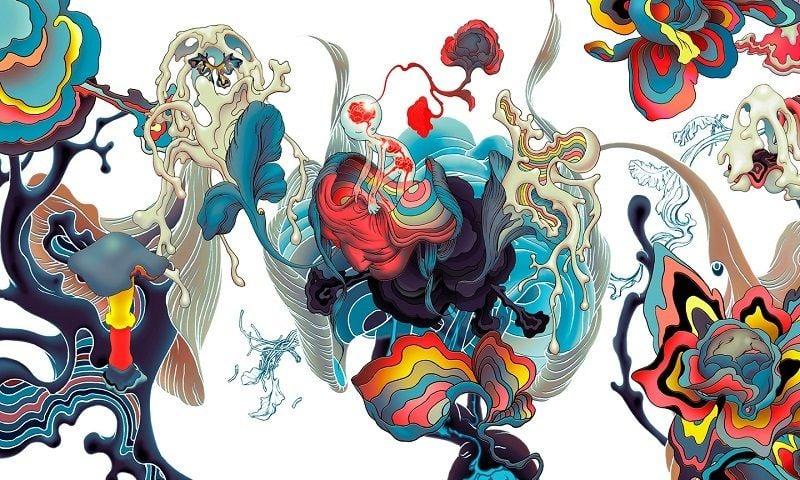 Incredible Illustrators James Jean Lotus