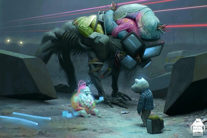 Incredible Illustrators Michael Kutsche