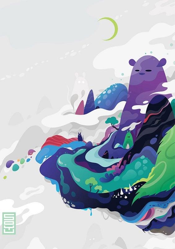 Incredible Illustrators Zutto Purple