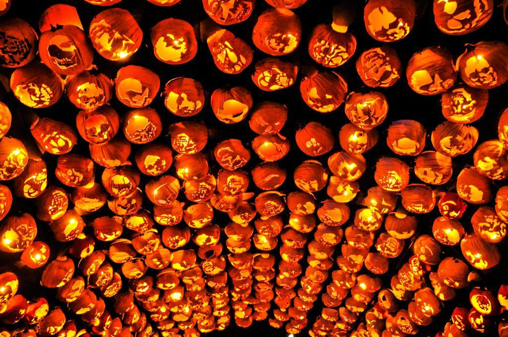 The Great Jack O Lantern Blaze Puts Traditional Pumpkin Art To Shame