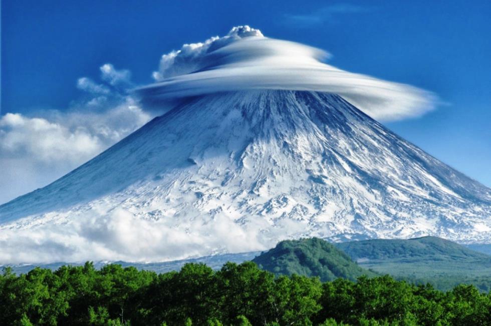 The Kliuchevskoi Mountain Mountain
