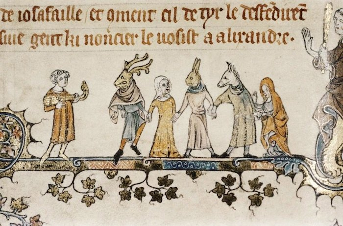 Masquerade Ball 14th Century