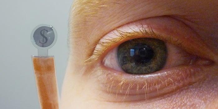 Miniature Gadgets Contact Lens