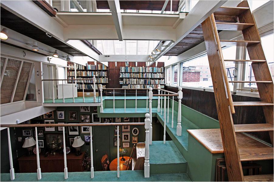 Norman Mailer's Brooklyn Home Floor