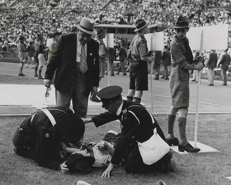 1948 Olympics Casualty