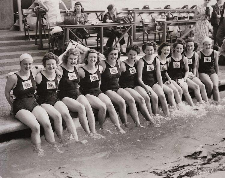 1948 Olympics Swimming Team
