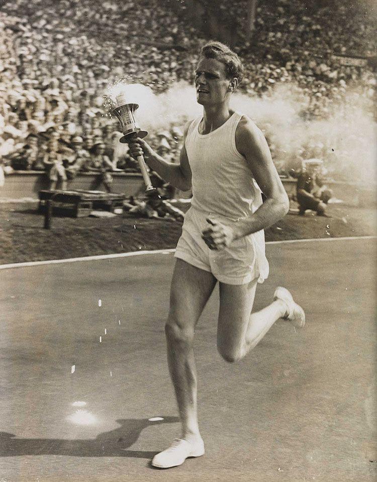 1948 Olympics Torch