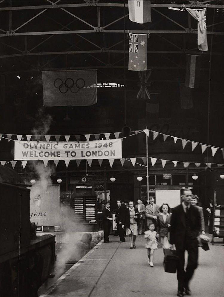 1948 Olympics Train Station