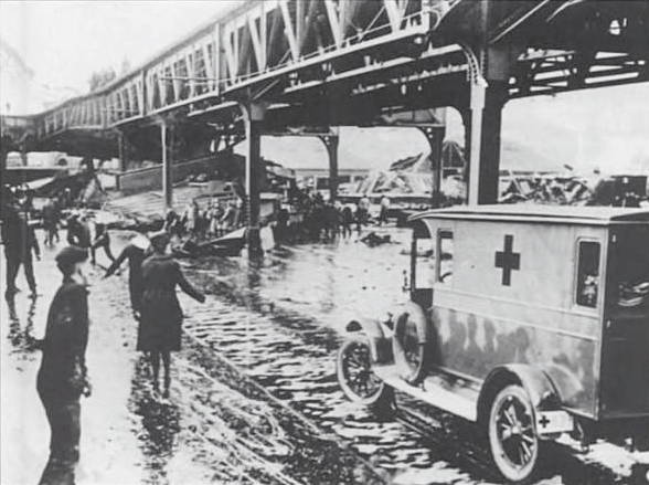 Red Cross Truck during the Boston Molasses Flood