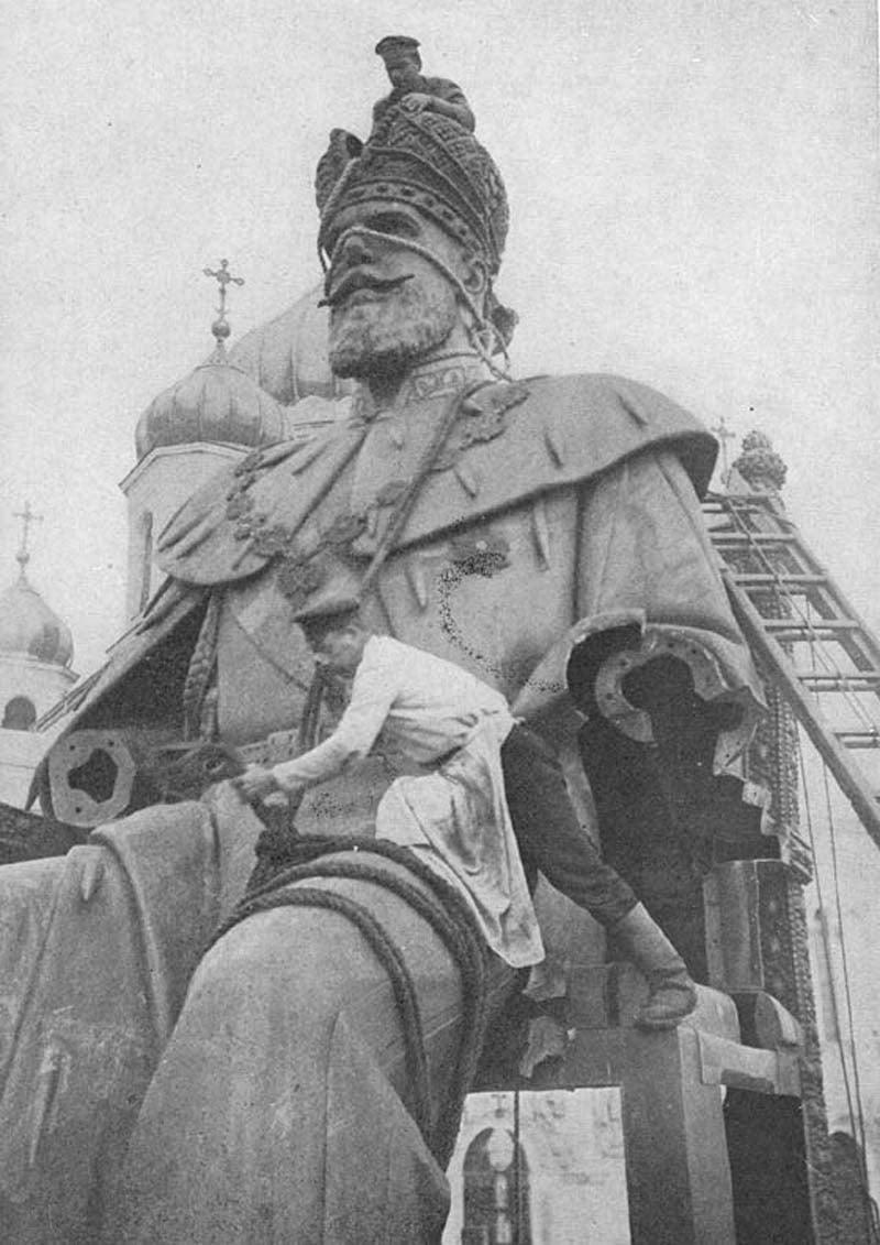 Russian Revolution Alexander Statue