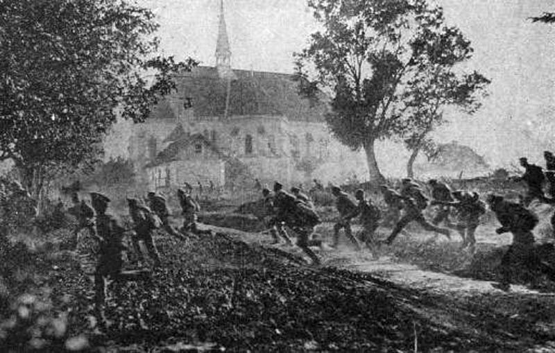 Russian Revolution Deserting Troops