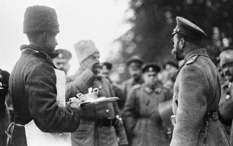 Tsar Nicholas II During World War I