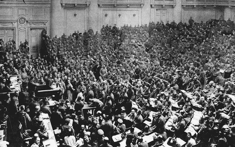 Russian Revolution Petrograd Soviet