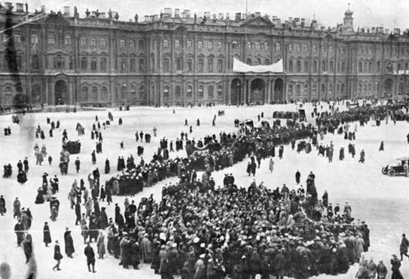 Russian Revolution Winter Palace