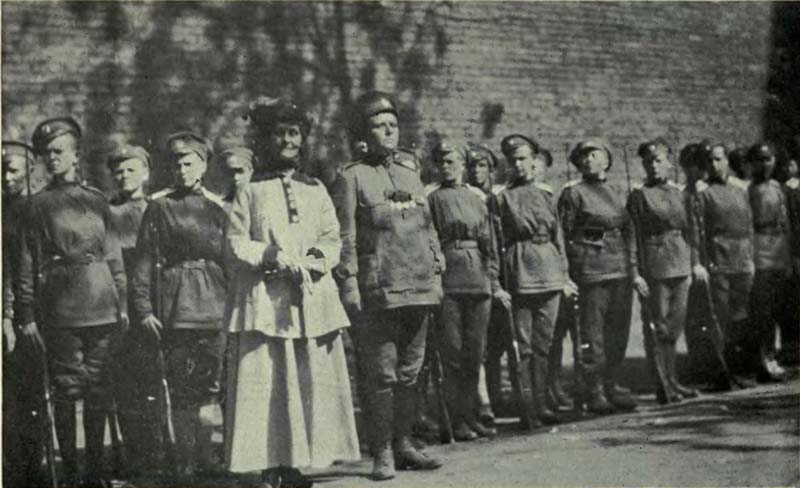 Russian Revolution Women's Brigade