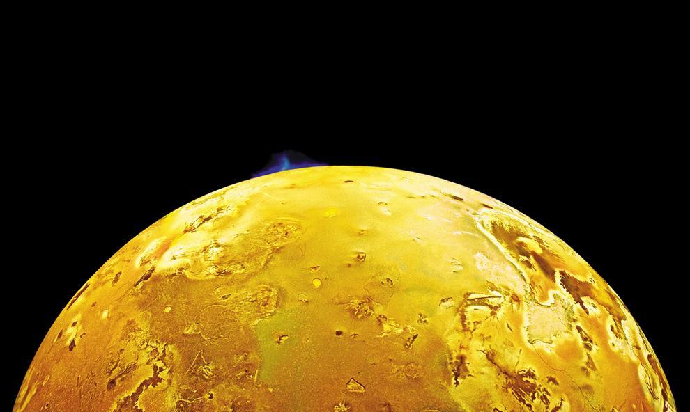 Volcanic Plume Jupiters Moon